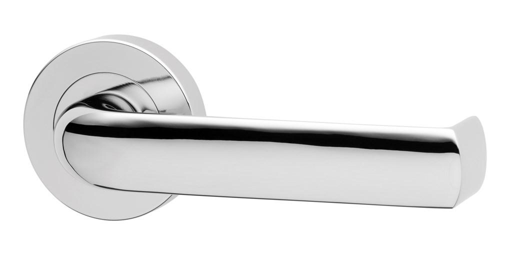 Lockwood 1220 Series Brass Door Handle Lever 77